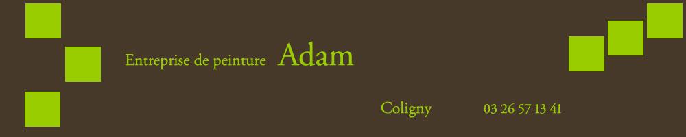 Peinture Adam Cyril – Coligny – Marne – 51